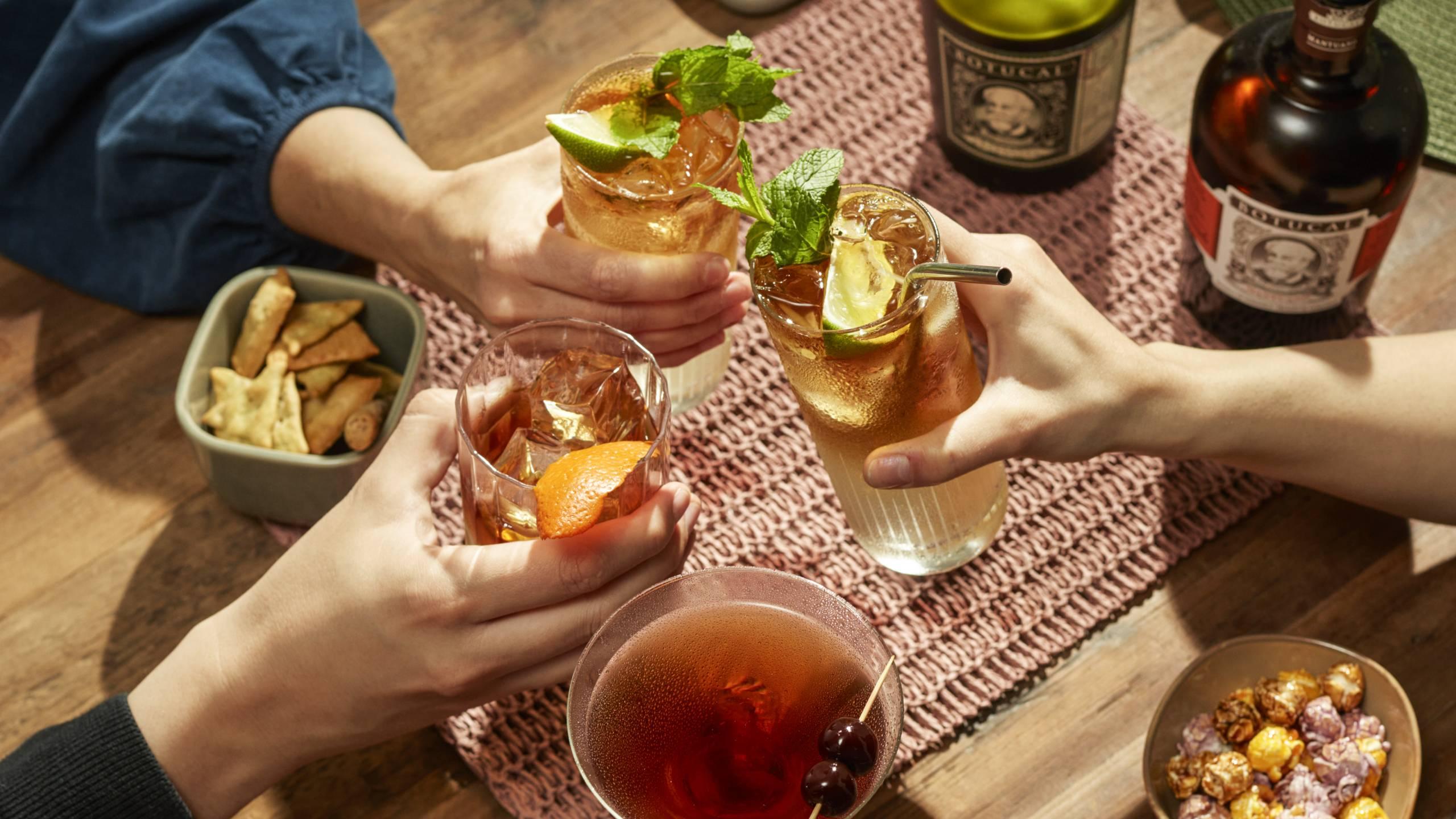 Rum Cocktails Botucal Rum